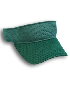 custom fastpitch visors green