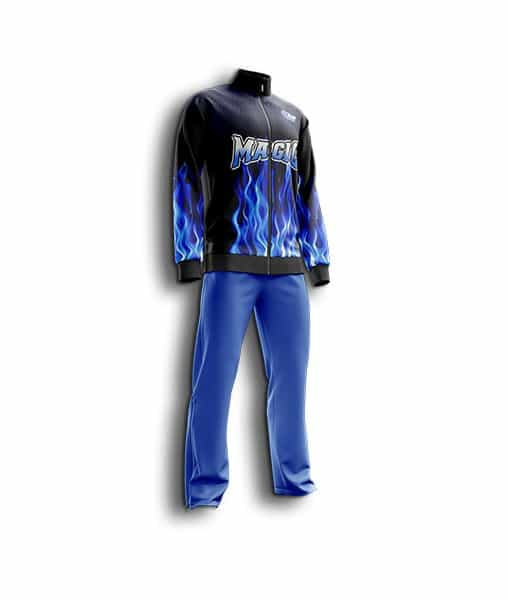Men basketball pregame suit
