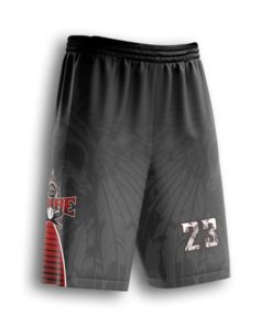 sublimated baseball shorts youth