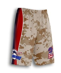 sublimated baseball coach shorts