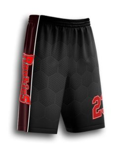 short baseball pants sublimated
