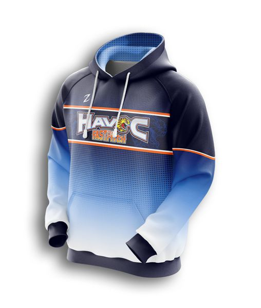 custom Youth's Fastpitch hoodie