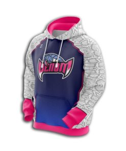 cutomised sublimated hoodies womens