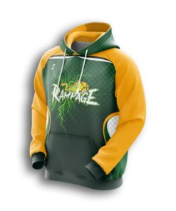 rampage fastpitch custom hoodies