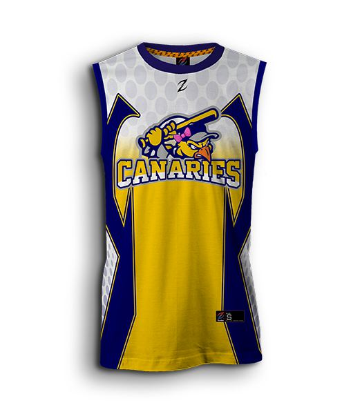 women custom fastpitch sleeveless