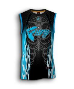 Sleeveless jersey softball