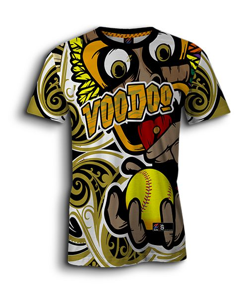 Youth's custom softball jerseys