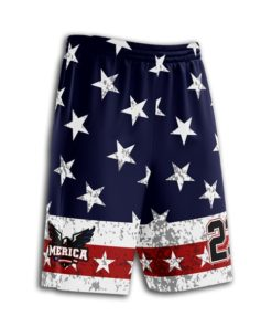 Youth's custom softball shorts- full-dye custom softball uniform