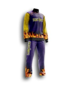 Youth custom Fastpitch pregame suit