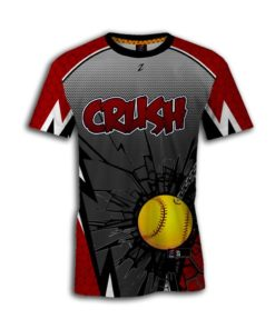 Women's custom Fastpitch Jerseys Crew Neck