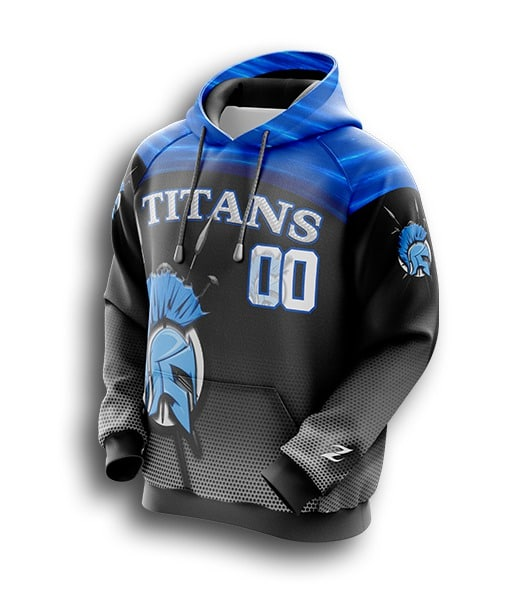 custom football hoodies
