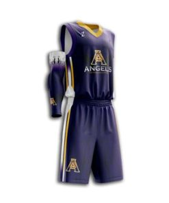 Men basketball uniform full dye