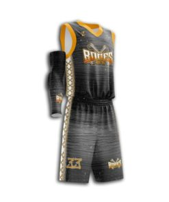 Men basketball uniform full custom
