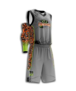 Youth fully sublimated Basketball uniform