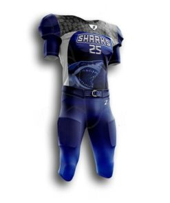 Youth sublimated football uniforms