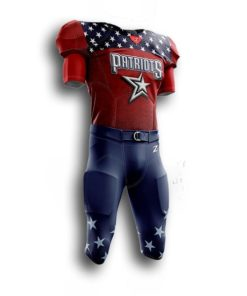 Mens sublimated football uniforms