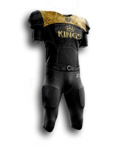 Youth custom football uniforms