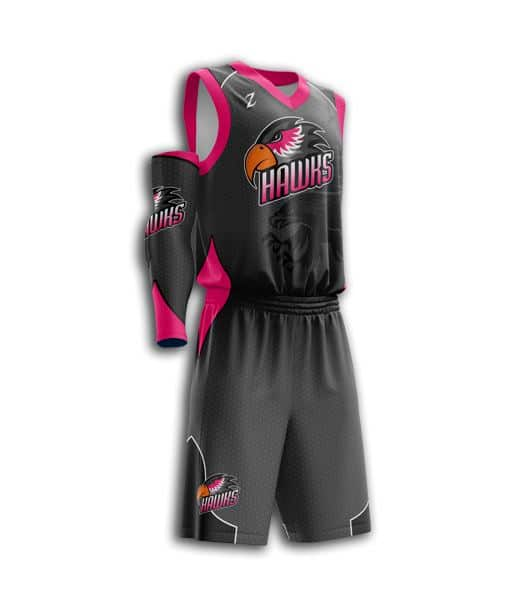 Women's basketball uniforms