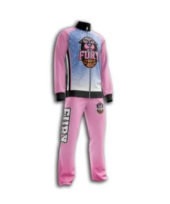 Women basketball pregame suit