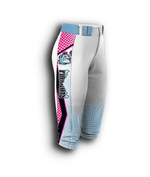 fully sublimated Fastpitch pants.